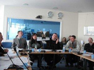 Україні потрібен діалог щодо лісової політики. На фото -- учасники круглого столу, що проходив 17.02.2010 в представництві Світового банку в Києві в рамках програми FLEG-1