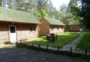 Такi будиночки для проживання мисливцiв побудували на угiддях на угiддях, якими користується одна з приватних фірм